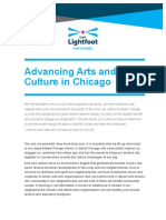 Lightfoot Arts and Culture Policy