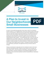 Lightfoot Economic Development Policy