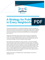 Lightfoot Public Safety Policy