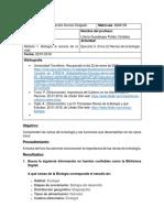 Ejercicio 5. (Foro 2) Ramas de La Biología