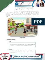 AA4-Evidence 1 Street Life de Oro