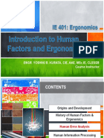 (3) Human Error Analysis