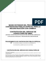 Bases Estándar de la Reconstrucción con Cambios