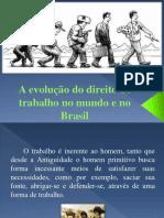 A Evolução Do Direito de Trabalho No Mundo
