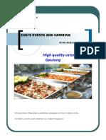 Zuki's Events and Catering Profile