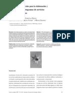 Modelos De Simulacion Para la Elaboracion y Evaluacion de los programas de servicios