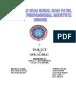 Project Mca III Sem