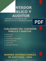 Contador Público y Auditor Exposicion 01 2019