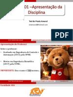 Lab. Informática - Aula 01 - Apresentação Da Disciplina