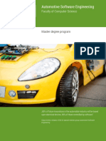 Automotive Software Engineering Master Engl