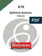 BioSystems A-15 Analyzer - Service manual.pdf