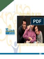 Dossier 50AniversarioAspanias1964 2014