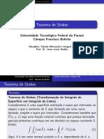 11 Teorema de Stokes