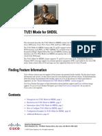 t1_e1 Mode for Shdsl