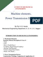 Machine elements, Power Transmission Devices.pdf