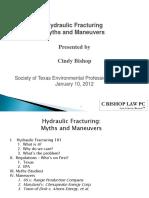 Basic Hydraulic Fracturing