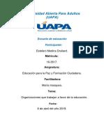 Tarea 4 Educacion Para La Paz y Formacion Ciudadana.