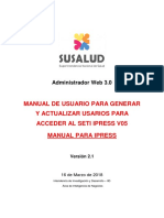 Manual de Usuario v2.0 Admweb Seti Ipress Ipress