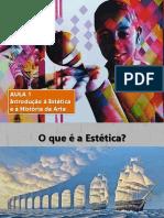 Estética e História Da Arte_Aula 1_Introdução a Estética e História Da Arte