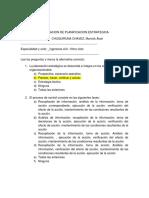 Evaluacion Escrita de Planificacion Estrategica