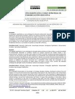 LA DIVULGACIÓN SIGNIFICATIVA COMO ESTRATEGIA DE COMUNICACIÓN EDUCATIVA