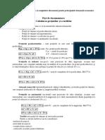 FD Calcul prețuri Și Tarife