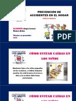 Prevención de Accidentes de Los Niños en El Hogar