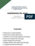 Conceptos Gobernanza Del Agua