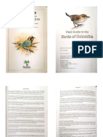 Field Guide to the Birds of Colombia - McMullan & Donegan-1.pdf