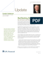 Compass Financial - Lincoln Anderson Commentary  - Bad Banking - July 22, 2008