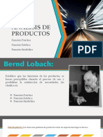 Análisis de Productos - Funcion practica, estetica, simbolica