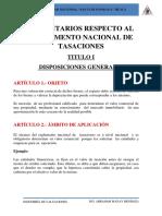COMENTARIOS RESPECTO AL REGLAMENTO NACIONAL DE TASACIONES.docx