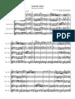 11. AMOR MIO Muliza Score and Parts