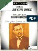 TIPACOQUE. Bambuco. Antonio Silva G. Transc. piano Gerardo Betancourt.