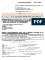 Substantivos e Adjetivos EJA Exercícios