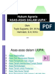Agraria 5-ASAS ASAS HUKUM AGRARIA