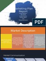 Marketing Plan Report Virtual Store