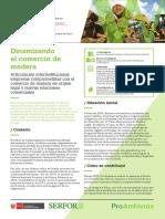 Historia de la industria de la madera en Perú