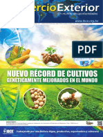 Ce 2018 Nuevo Record Cultivos OGM Mundo