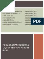 PENGUKURAN DENSITAS LIQUID SEBAGAI FUNGSI SUHU-3.pptx