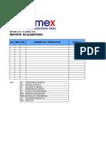 Anexo 30 Guía de Elaboración del Formato Guía Base de  Ausentismo V02.xls