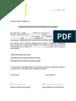CONTRATO DE PRESTACIÓN DE SERVICIOS SOCIAL MEDIA