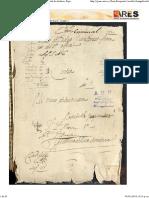 Proceso Criminal de Alí Folios 1-2