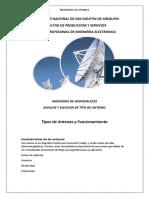 Tipos de Antenas Radioenlaces