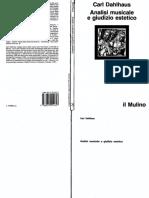 [Carl Dahlhaus] Analisi Musicale e Giudizio Esteti(Z-lib.org)
