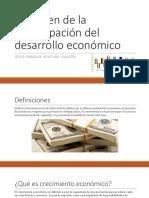 Resumen de La Preocupación Del Desarrollo Económico