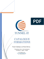 Catalogue Formation Tunnel-IT 2019