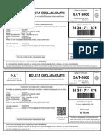 NIT-101781911-PER-2019-01-COD-4091-NRO-24341711476-BOLETA