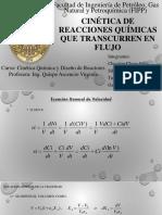 Cinética de Reaccion VOLUMEN VARIABLE