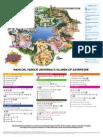 Islands of Adventure Map Br
